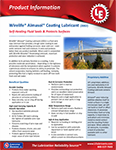 LE's 2002 Wirelife® Almasol® Coating Wire Rope Lubricant Info