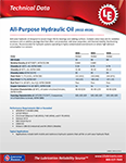 LE's 4932-4933-4934 All-Purpose Hydraulic Oil Info