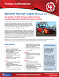 LE's 8521 & 8531 Monolec® Tetra-Syn Engine Oil (SAE 5W-20 & 5W-30) Info