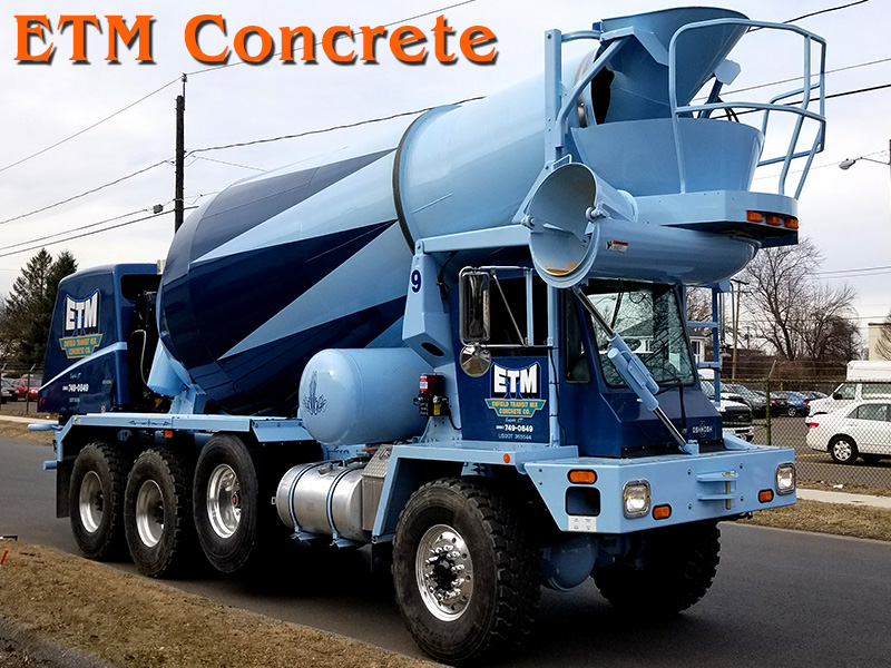 ETM Oshkosh Cement Mixer