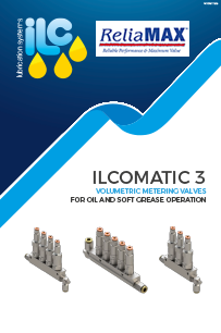 ILC ILCOMATIC-3 volumetric metering valves oil soft grease operation