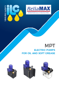 ILC MPT Electric Pumps Oil Soft Grease