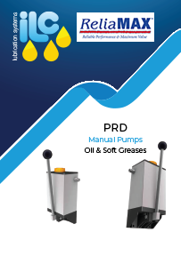 ILC PRD Manual Pump Oil & Soft Grease