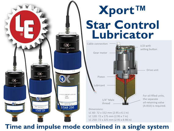 LE Xport Star Control Lubricator