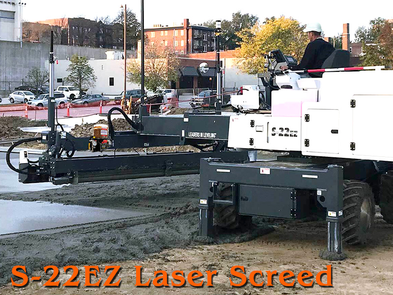 S-22EZ Laser Screed