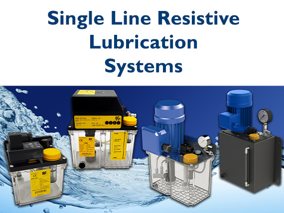 Single Line Resistive Lubrication Systems/Pumps