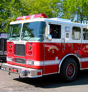 municipal fire truck pittsfield MA