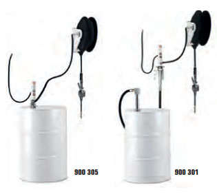 PM2 - 3:1 Ratio Pump and Hose Reel Packages for 55 Gallon Drums